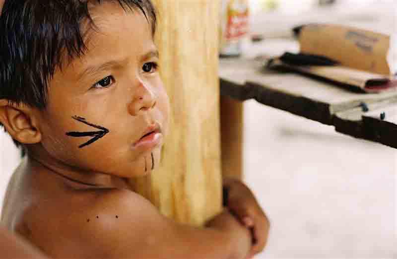 Criança Pataxó