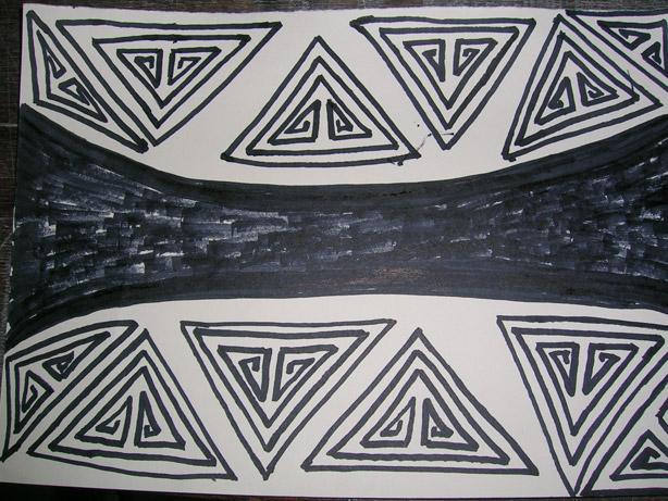 Desenhos Pataxó
