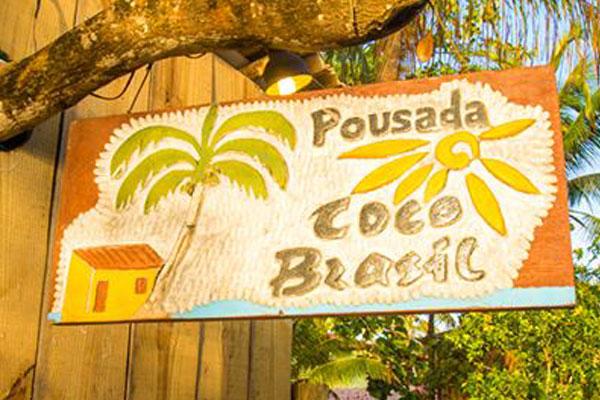 Pousada Coco Brasil, em Caraíva