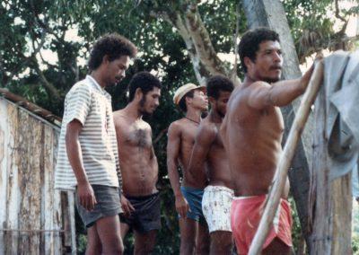 Vira-vira, Dito, Zé Pará, Pinduca e Jojó