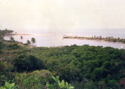 Barra do rio Caraíva